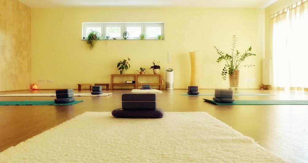 Großer Yogaraum